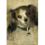 Puzzle  Grafika-01865 Auguste Renoir: Head of a Dog, 1870