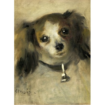 Puzzle  Grafika-01866 Auguste Renoir: Head of a Dog, 1870