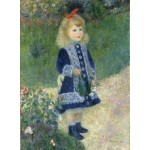 Puzzle  Grafika-01880 Auguste Renoir : A Girl with a Watering Can, 1876