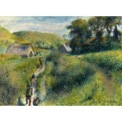 Puzzle  Grafika-01885 Auguste Renoir: The Vintagers, 1879