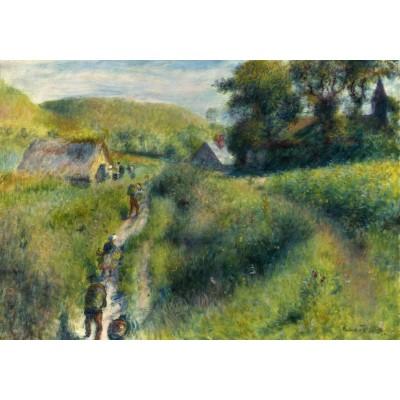 Puzzle  Grafika-01886 Auguste Renoir: The Vintagers, 1879