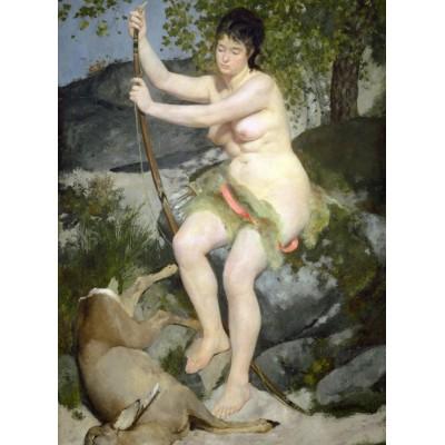 Puzzle  Grafika-01888 Auguste Renoir: Diana, 1867