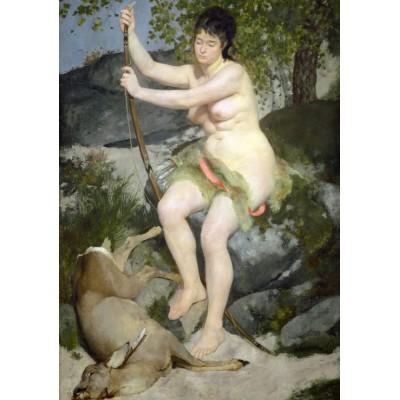 Puzzle  Grafika-01889 Auguste Renoir: Diana, 1867