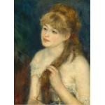 Puzzle  Grafika-01896 Auguste Renoir: Young Woman Braiding Her Hair, 1876