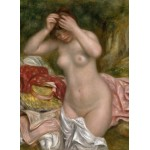 Puzzle  Grafika-01899 Auguste Renoir: Bather Arranging Her Hair, 1893