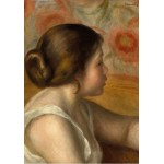 Puzzle  Grafika-01904 Auguste Renoir: Head of a Young Girl, 1890
