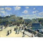 Puzzle  Grafika-01909 Auguste Renoir: Pont Neuf, Paris, 1872