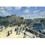 Puzzle  Grafika-01910 Auguste Renoir: Pont Neuf, Paris, 1872