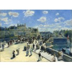 Puzzle  Grafika-01911 Auguste Renoir: Pont Neuf, Paris, 1872