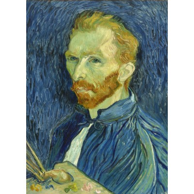 Puzzle  Grafika-01917 Vincent Van Gogh: Self-Portrait, 1889