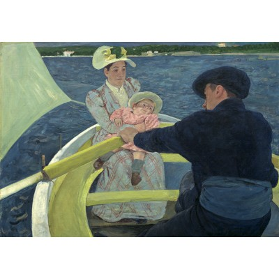 Puzzle  Grafika-01923 Mary Cassatt: The Boating Party, 1893/1894