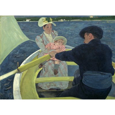 Puzzle  Grafika-01924 Mary Cassatt: The Boating Party, 1893/1894