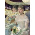 Puzzle  Grafika-01933 Mary Cassatt: The Loge, 1882