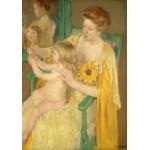 Puzzle  Grafika-01935 Mary Cassatt: Mother and Child, 1905