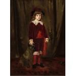 Puzzle  Grafika-01942 Mary Cassatt: Eddy Cassatt (Edward Buchanan Cassatt), 1875