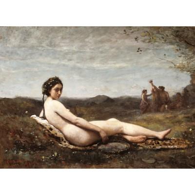 Puzzle  Grafika-01964 Jean-Baptiste-Camille Corot: Repose, 1860