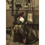 Puzzle  Grafika-01982 Jean-Baptiste-Camille Corot: The Artist's Studio, 1868