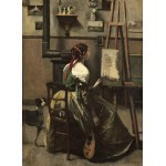 Puzzle  Grafika-01984 Jean-Baptiste-Camille Corot: The Artist's Studio, 1868