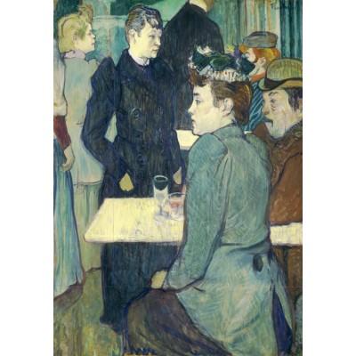 Puzzle  Grafika-01989 Henri de Toulouse-Lautrec: A Corner of the Moulin de la Galette, 1892