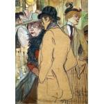 Puzzle  Grafika-01992 Henri de Toulouse-Lautrec: Alfred la Guigne, 1894
