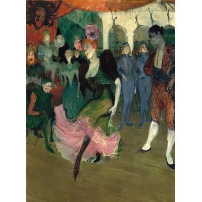 Puzzle  Grafika-01994 Henri de Toulouse-Lautrec: Marcelle Lender Dancing the Bolero in