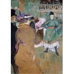 Puzzle  Grafika-02004 Henri de Toulouse-Lautrec: Quadrille at the Moulin Rouge, 1892