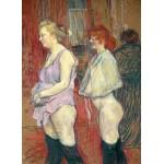 Puzzle  Grafika-02008 Henri de Toulouse-Lautrec: Rue des Moulins, 1894