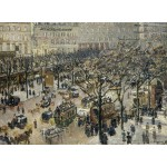 Puzzle  Grafika-02011 Camille Pissarro: Boulevard des Italiens, Morning, Sunlight, 1897