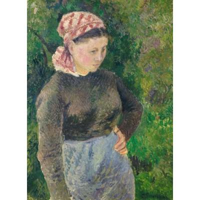 Puzzle  Grafika-02026 Camille Pissarro: Peasant Woman, 1880
