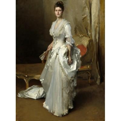 Puzzle  Grafika-02045 John Singer Sargent: Margaret Stuyvesant Rutherfurd White (Mrs. Henry White), 1883
