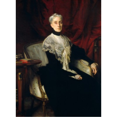 Puzzle  Grafika-02056 John Singer Sargent: Ellen Peabody Endicott (Mrs. William Crowninshield Endicott), 1901