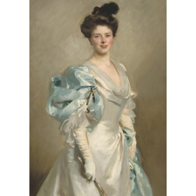 Puzzle  Grafika-02061 John Singer Sargent: Mary Crowninshield Endicott Chamberlain (Mrs. Joseph Chamberlain), 1902