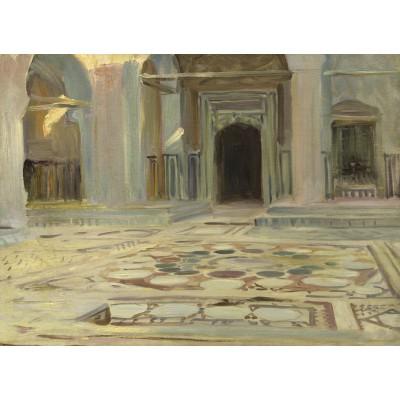 Puzzle  Grafika-02071 John Singer Sargent: Pavement, Cairo, 1891