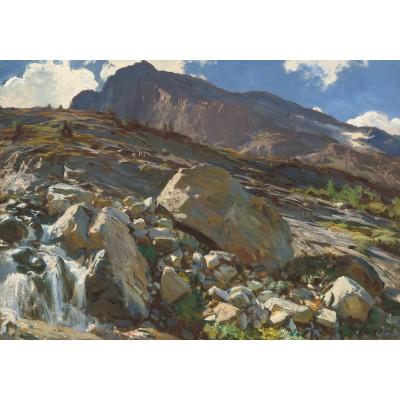 Puzzle  Grafika-02076 John Singer Sargent: Simplon Pass, 1911