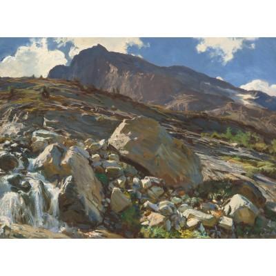 Puzzle  Grafika-02077 John Singer Sargent: Simplon Pass, 1911