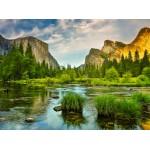 Puzzle  Grafika-02081 Yosemite-Nationalpark