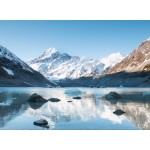 Puzzle  Grafika-02086 Aoraki Mount Cook Nationalpark, Neuseeland
