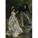 Puzzle  Grafika-02088 Pierre-Auguste Renoir: La Promenade, 1870