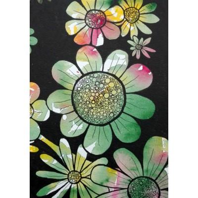 Puzzle  Grafika-02090 Doodle Flowers