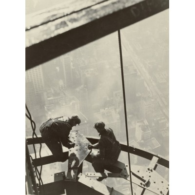 Puzzle  Grafika-02122 Lewis W. Hine: Empire State Building, New York, 1931