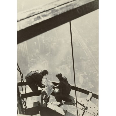 Puzzle  Grafika-02123 Lewis W. Hine: Empire State Building, New York, 1931