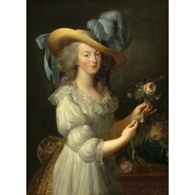 Puzzle  Grafika-02127 Elisabeth Vigée-Lebrun: Marie-Antoinette, 1783