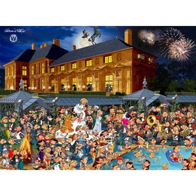 Puzzle Grafika-02131 François Ruyer: Château de Vallery