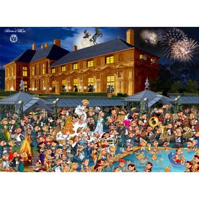Puzzle  Grafika-02132 François Ruyer: Château de Vallery