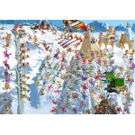 Puzzle  Grafika-02137 François Ruyer - Climbing