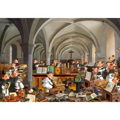 Puzzle  Grafika-02140 François Ruyer - Scriptorium