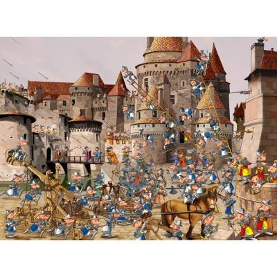 Puzzle  Grafika-02141 François Ruyer - Attack of the Castle