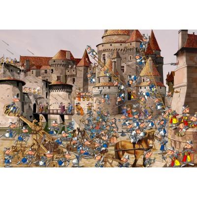 Puzzle Grafika-02142 François Ruyer - Attack of the Castle
