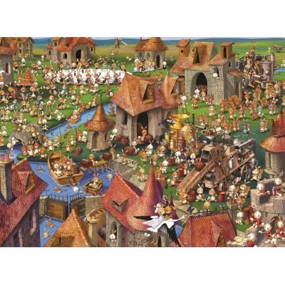 Puzzle  Grafika-02152 François Ruyer - Kaninchen