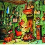 Puzzle  Grafika-02158 François Ruyer - Die Hexe